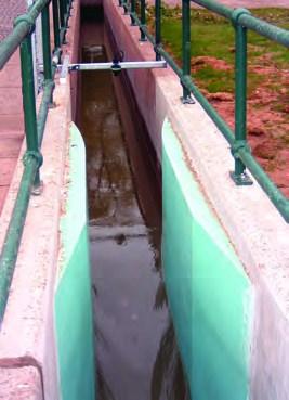 Mesure de débit sur canal ouvert avec venturi